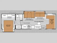 Thor Chateau 31L floorplan
