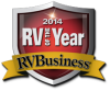Class A AXIS RUV Ford chassis best rv of the year award